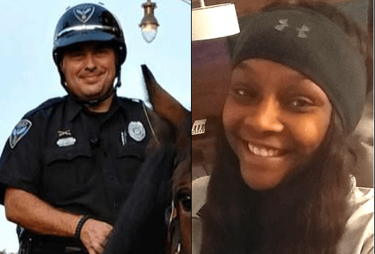 Married Mississippi cop arrested for murder of woman he'd been 'sleeping with' - Matthew Kinne  was arrested after Dominic Clayton was found shot in the back of the head at home by her 8-year-old son
